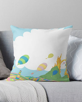 oh the places pillow.jpg