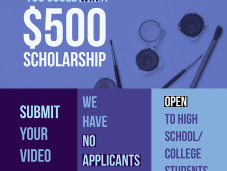 Your studentcould win a $500scholarship