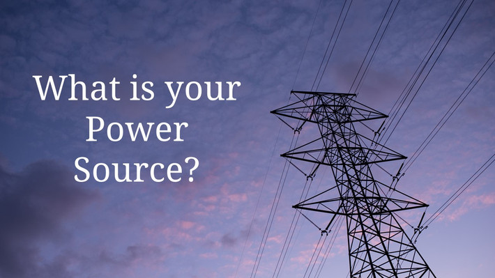What's Your Power Source?