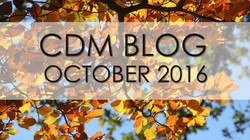"CDM BLOG: ""Carved by God"" October 2016"