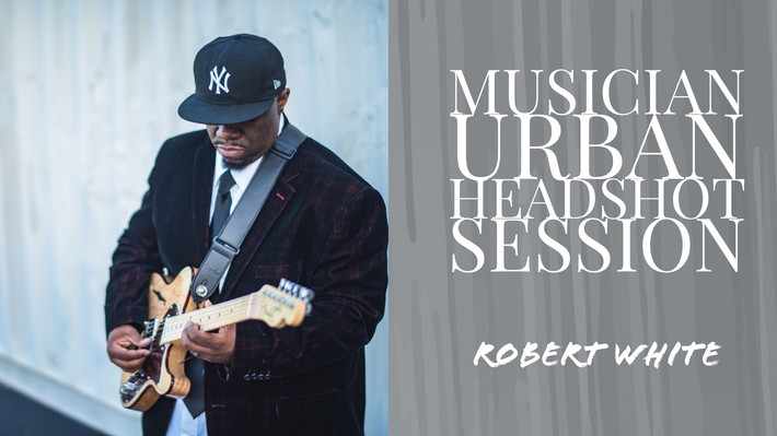 Chesapeake Virginia Musician Headshot   Photographer- Urban Guitar Photoshoot (Robert White)