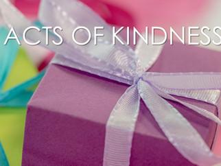 "CDM BLOG: ""Acts of Kindness"" November 2016"