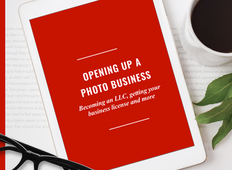 Starting a photo business in VA- getting an LLC, business licenses, what to charge abd more