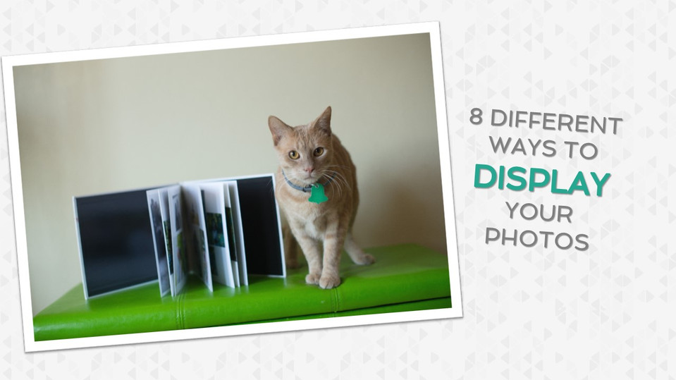 8 Different Ways to Display Your Photos