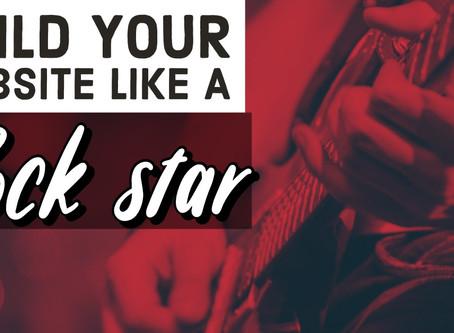 Build your website like a Rockstar
