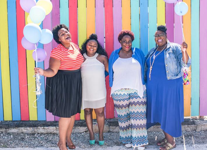 Body Love Women Empowerment Shoot in the Neon District Norfolk Virginia