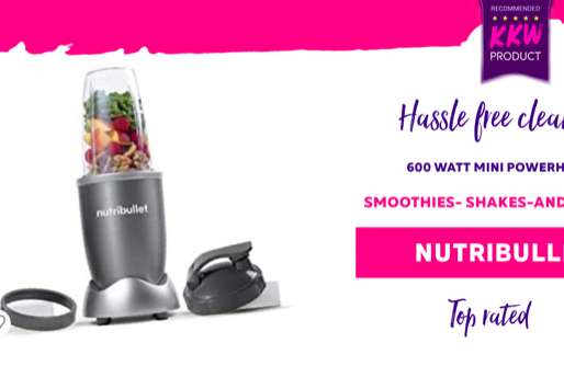 Nutribullet / Powerhouse Smoothie and Blender / 600 Watt / Hassle-Free Cleaning / Nutri Bullet