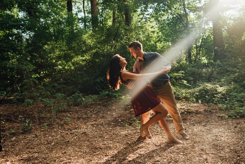 Chesapeake Arboretum Engagement Session, Wedding Photographer Videographer | Nabiha and Andy