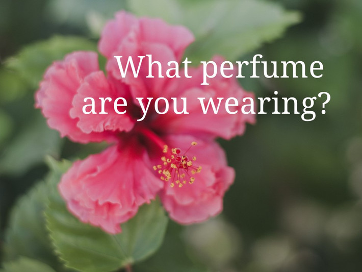 What Perfume Are You Wearing?