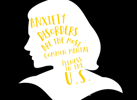 Anxiety disorders are the most common mental illness in the U.S.