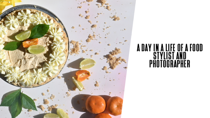 A day in a life of a food photographer/food stylist