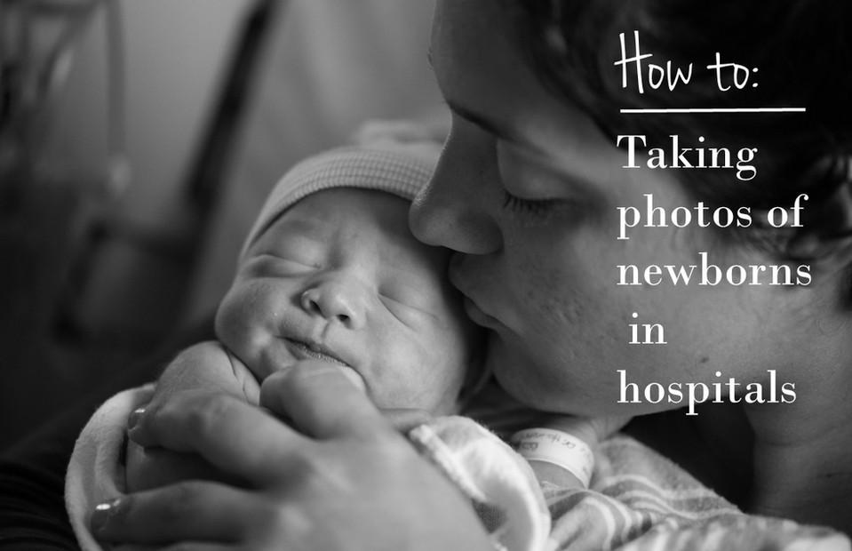 How to take better newborn hospital photos