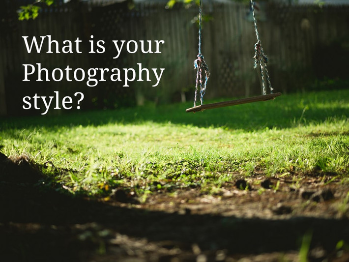 Find out your photography style.