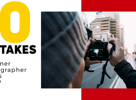 10 mistakes every Beginner photographer makes