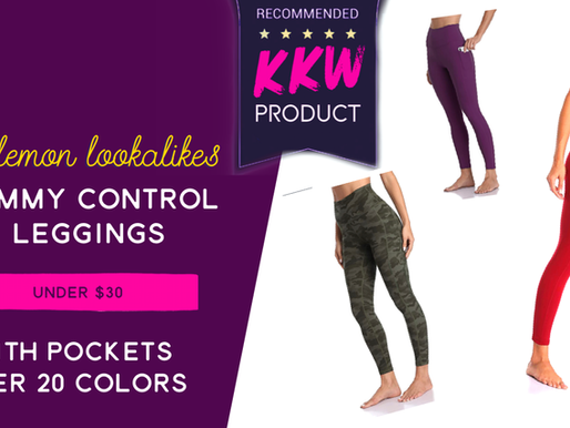 Lululemon lookalike leggings that are buttery soft WITH pockets | under $30