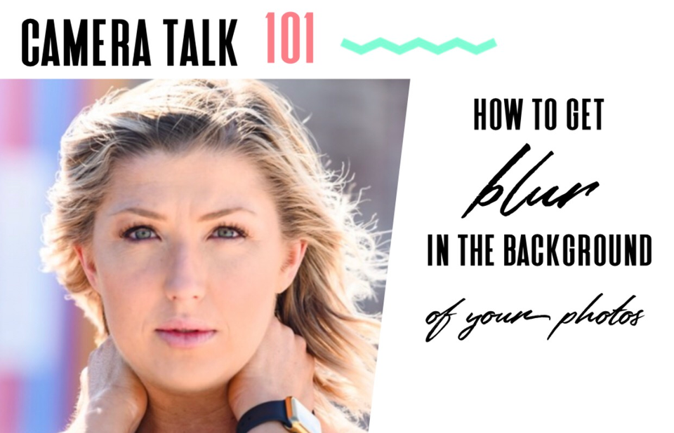 How to get background blur in your photos: Camera Talk 101