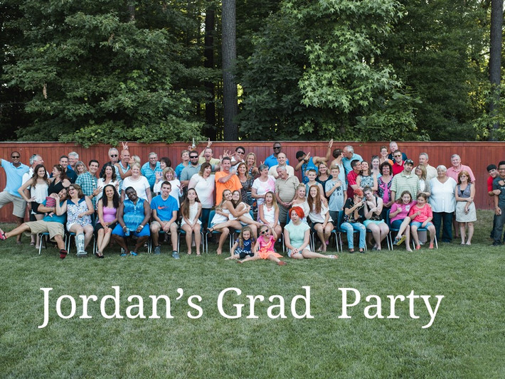 Chesapeake, VA Families and Special Event and Photobooth Photography, Jordan's Graduation Party