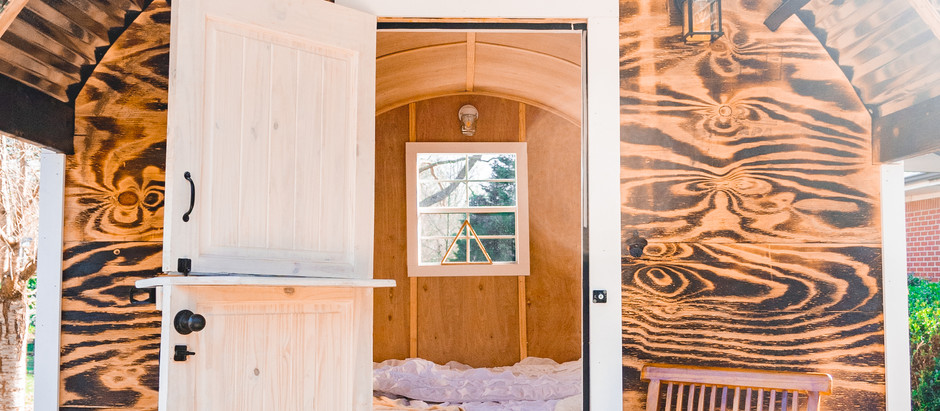 Glamping Boho Wagon- How We Built it and our process