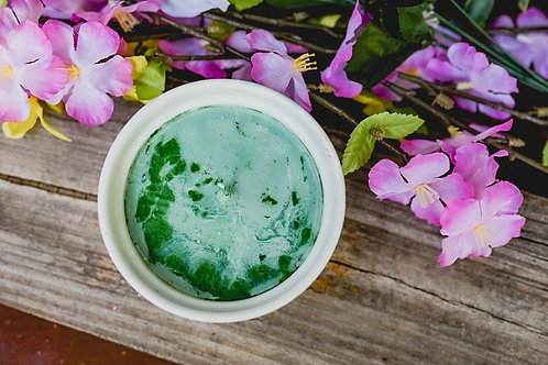 Peppermint Green Soy Candle