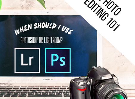 When Should I Use Photoshop or lightroom to edit?