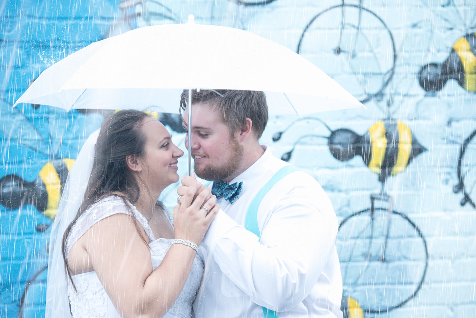 NEON District Norfolk Wedding: Styled Shoot Alexis and Damien