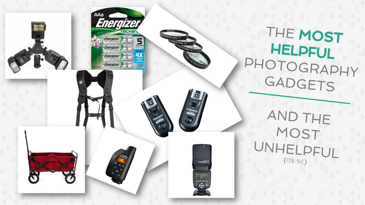 What Photography Gadgets You Really Need... I Know By Experience