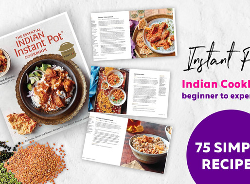 Want to make amazing healthy meals with your Instant Pot? See our favorite Indian recipe book.