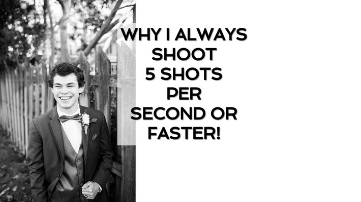 Why I Always Shoot 5 Shots Per Second