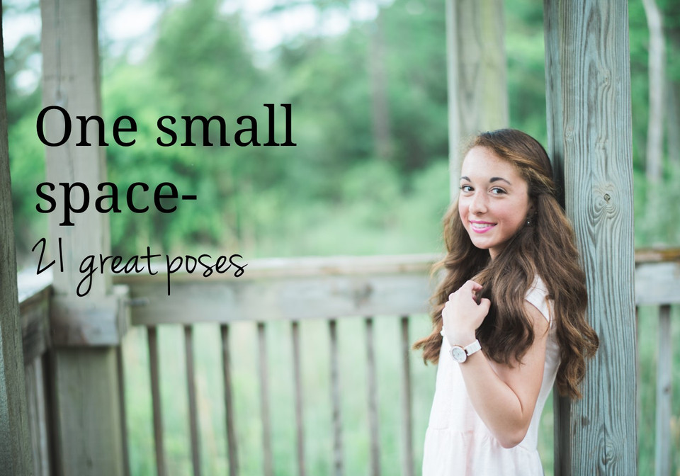 One Small Space, 21 Great Poses