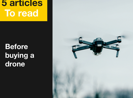 5 articles to read before buying a drone