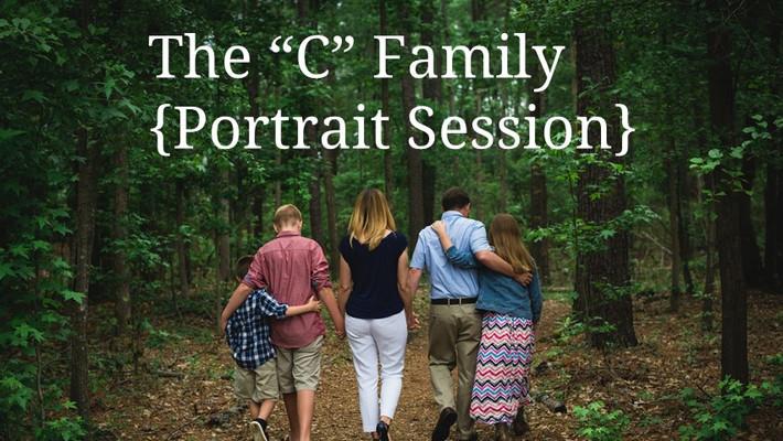 "Chesapeake, VA Child and Family Photographer, ""The C Family."""