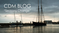"CDM BLOG: ""SEASON'S CHANGE"""
