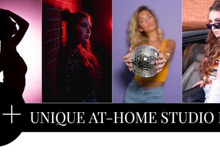 10 + unique at-home studio ideas