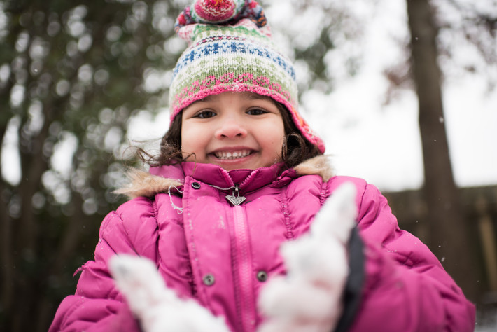 How to take pictures of your kids in the Snow