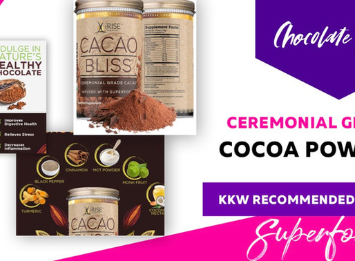 Satisfy your Chocolate Cravings with this Cacao Bliss Superfood Powder | Boosts Metabolism