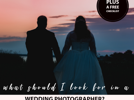 What Should I Look For in a Wedding Photographer?