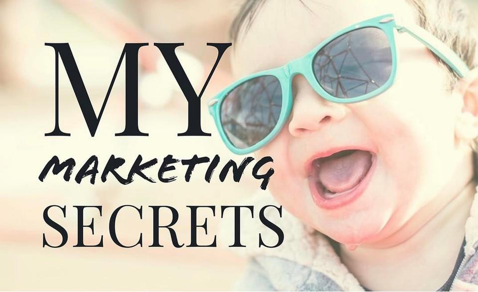 My Favorite Marketing Secrets