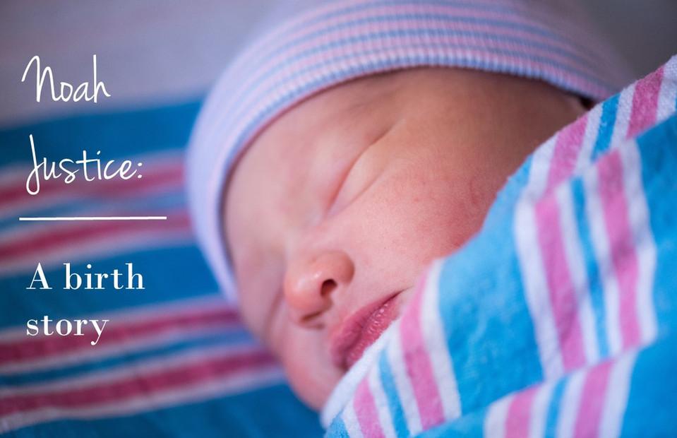 Noah Justice- Newborn Chesapeake Hospital Natural Light Photo Story