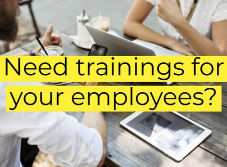 Need trainings?