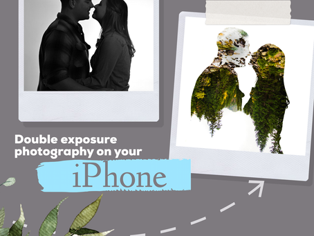 Double Exposure photography on your IPHONE- Three easy steps