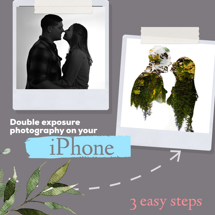 Double Exposure Photography on your Iphone (with three easy steps)