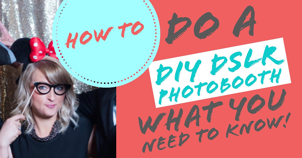 DIY DSLR photobooth with Android Phone