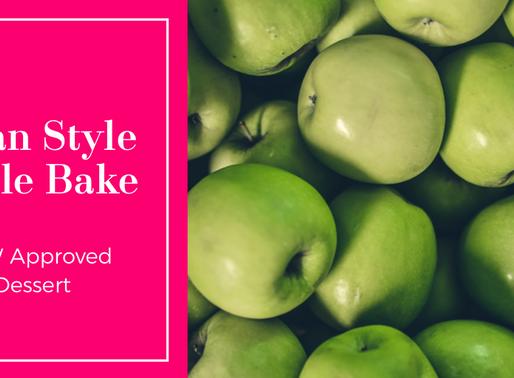 Clean Style Apple bake