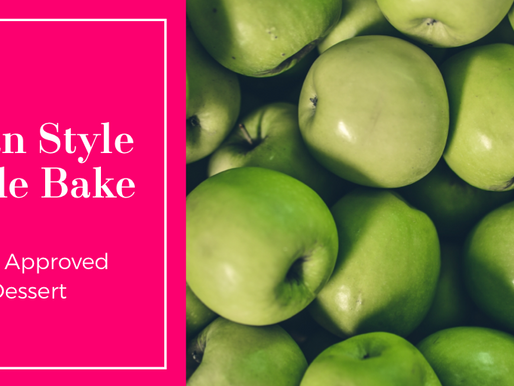 Clean Style Apple bake