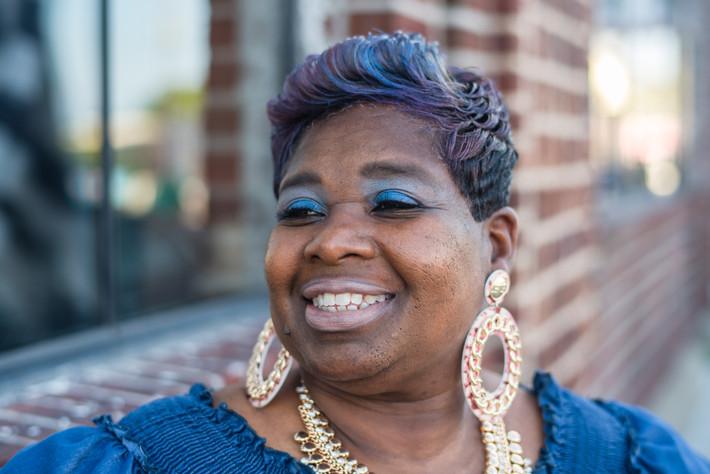 Women's Empowerment Shoot- Cindy's Story - Downtown Norfolk Graffiti District