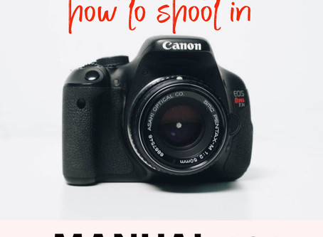 How to Shoot Manual 101