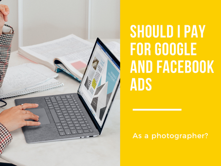 Should I pay for Facebook or google as as a photographer?!