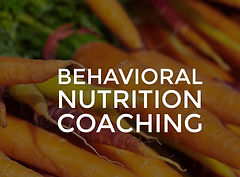 Behavioral Nutrition Coaching