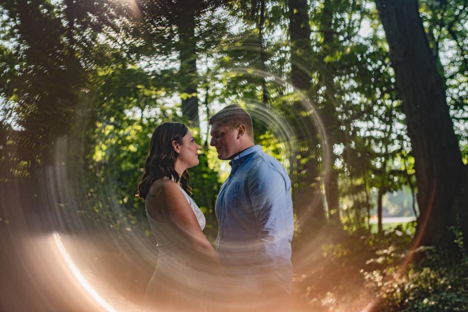 Chesapeake Arboretum Engagement Virginia Photographer Fall 2017 Shannon and Matt