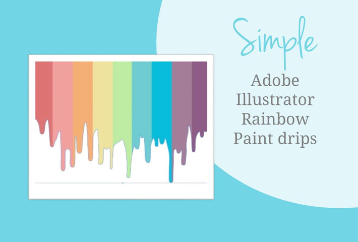 How to Graphic Design: Making a Simple Paint Drip Project in Adobe Illustrator